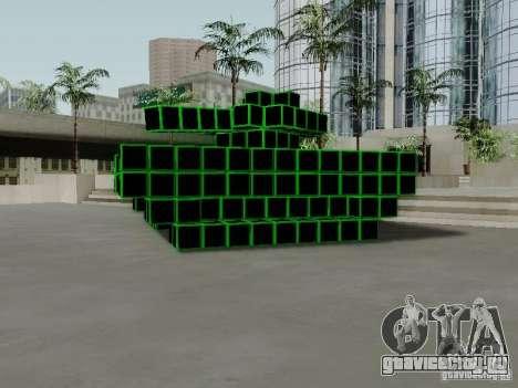 Pixel Tank для GTA San Andreas
