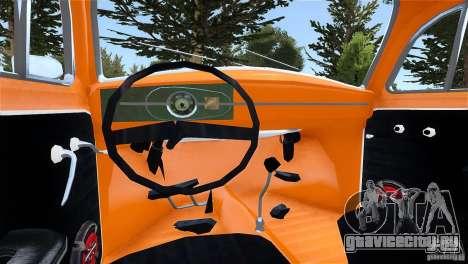 Baja Volkswagen Beetle V8 для GTA 4 вид сзади слева