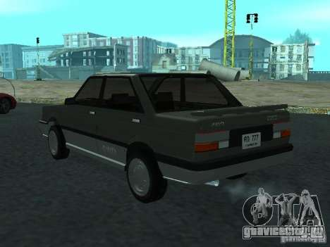 Nissan Sanny 1500 (B12) для GTA San Andreas вид слева