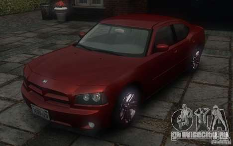 Dodge Charger RT Hemi 2008 для GTA 4