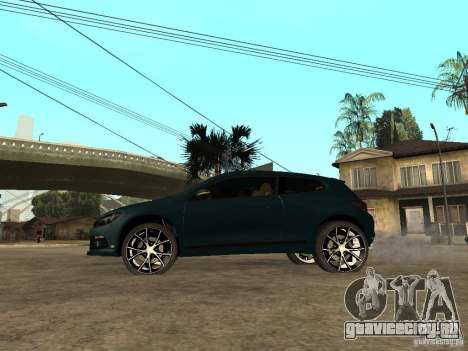 Volkswagen Scirocco 2010 для GTA San Andreas вид слева
