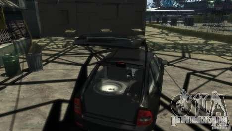 Ваз 2172 Приора Люкс для GTA 4 вид сзади