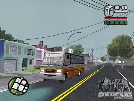 Ciferal Agilis M.Benz LO-814 BY GTABUSCL для GTA San Andreas
