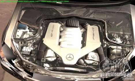 Mercedes-Benz E63 AMG 2010 для GTA San Andreas вид сверху