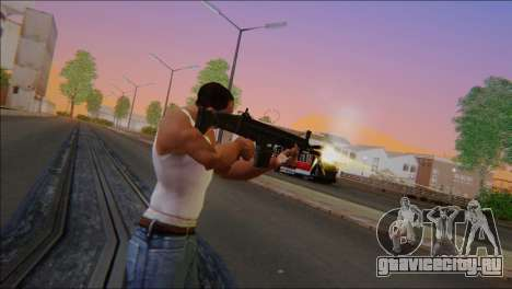 SCAR - H для GTA San Andreas третий скриншот