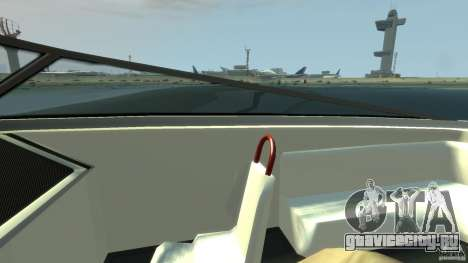 Tuned Jetmax для GTA 4 вид сзади