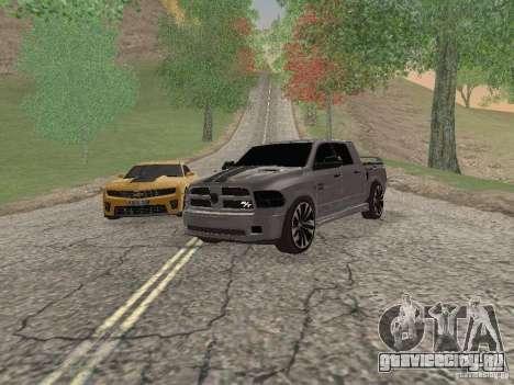 Dodge Ram R/T 2011 для GTA San Andreas
