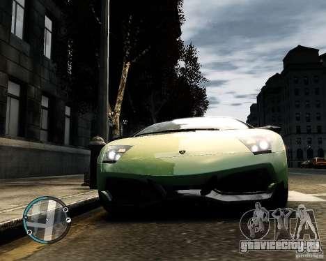 Lamborghini Murcielago LP 670-4 SuperVeloce 2010 для GTA 4