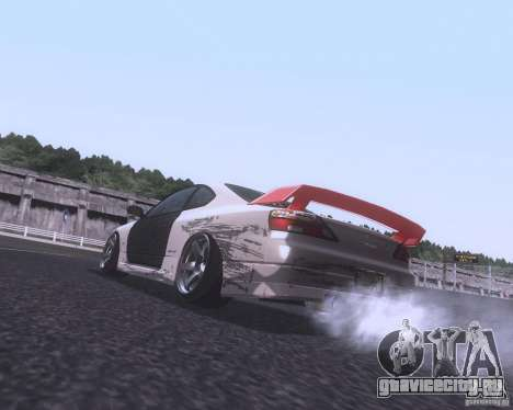 Nissan Silvia S15 Street для GTA San Andreas вид сзади слева