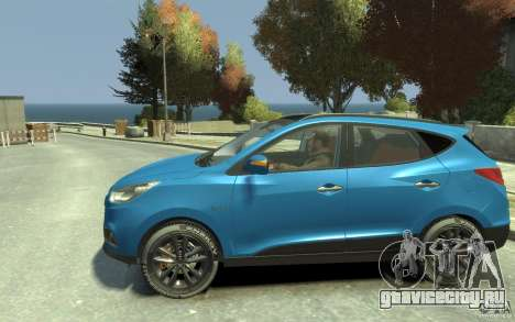 Hyundai IX35 2010 Beta для GTA 4 вид слева