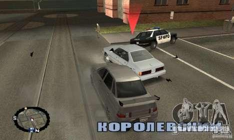 Уличные гонки для GTA San Andreas третий скриншот