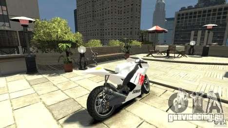 Yamaha YZR M1 MotoGP 2009 для GTA 4 вид сзади слева