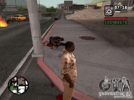 Ротвейлер для GTA San Andreas третий скриншот
