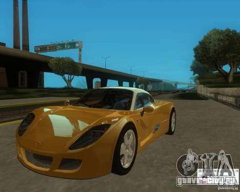 Ginetta F400 для GTA San Andreas вид справа