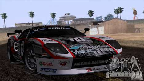 Ford GT Matech GT3 Series для GTA San Andreas вид сверху