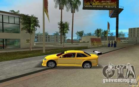 Opel Astra Coupe для GTA Vice City вид сзади слева