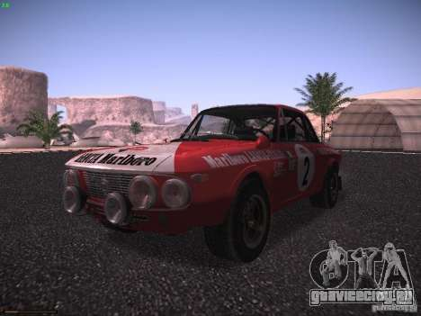 Lancia Fulvia Rally Marlboro для GTA San Andreas