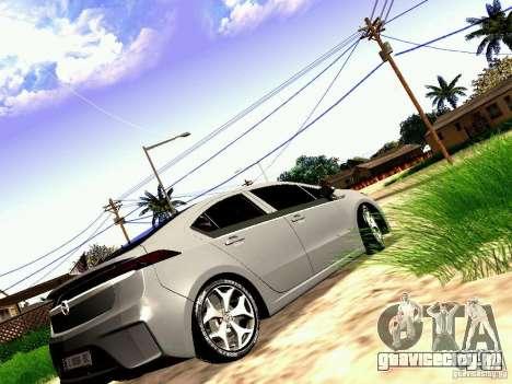 Opel Ampera для GTA San Andreas вид слева