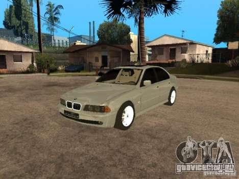 BMW 540i для GTA San Andreas