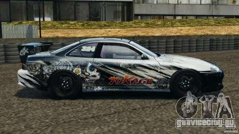 Toyota Soarer Drift для GTA 4 вид слева