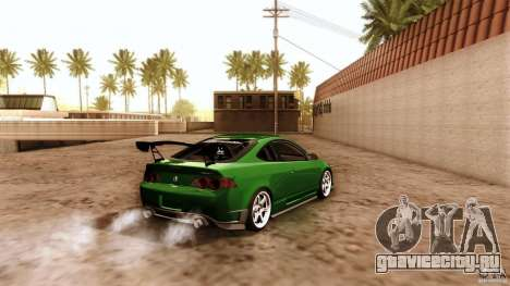Acura RSX Spoon Sports для GTA San Andreas вид снизу