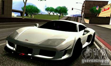 Noble M600 для GTA San Andreas колёса