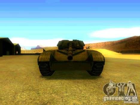 Танк из Игры S.T.A.L.K.E.R для GTA San Andreas вид сзади