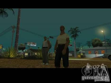 Varrio Los Aztecas для GTA San Andreas восьмой скриншот
