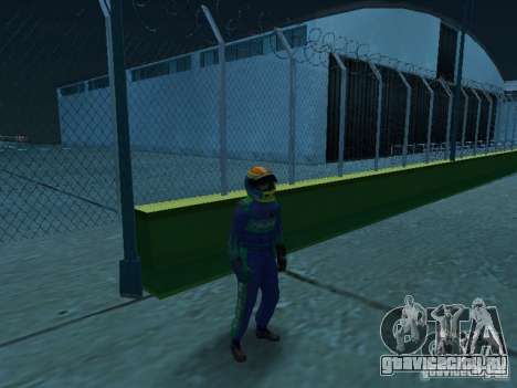 Falken Tire PED для GTA San Andreas второй скриншот