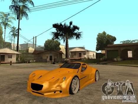Gillet Vertigo для GTA San Andreas