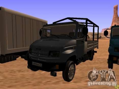 ЗиЛ 5301 Бычок для GTA San Andreas вид справа
