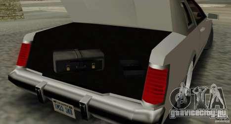 Virgo Continental для GTA San Andreas вид сбоку