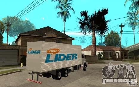 Camiуn Hiper Lider для GTA San Andreas вид справа