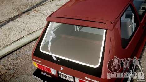 Volkswagen Rabbit 1986 для GTA 4 вид сверху