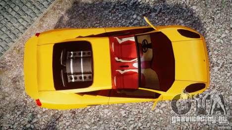 Lamborghini Cala для GTA 4 вид справа