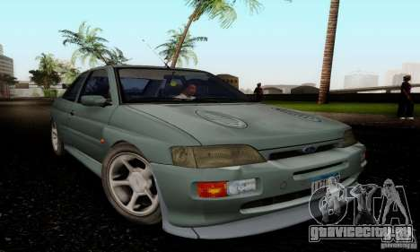 Ford Escort RS Cosworth для GTA San Andreas вид справа