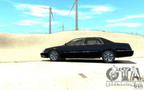 Cadillac DTS v 2.0 для GTA 4 вид слева