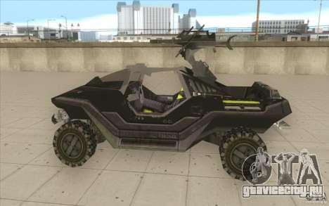 Halo Warthog для GTA San Andreas вид слева