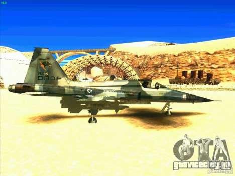 F-5E Tiger для GTA San Andreas вид справа
