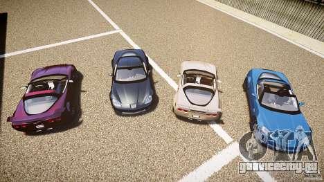 Chevrolet Corvette Z06 1.2 для GTA 4 салон