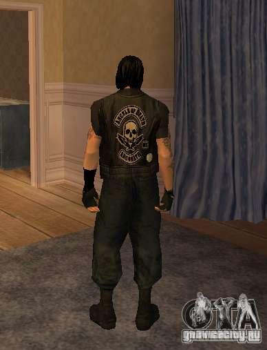 Новые скины Байкеров для GTA San Andreas четвёртый скриншот