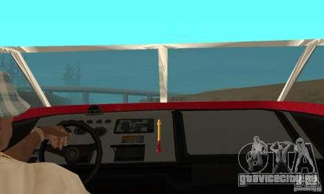 GTAIV Jetmax для GTA San Andreas вид сзади