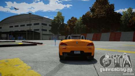 BMW Z4 sDrive 28is для GTA 4 вид сзади