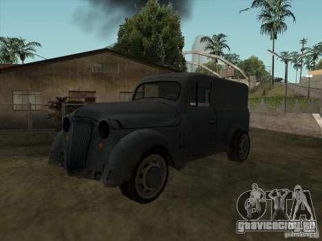 Автомобиль Второй Мировой Войны для GTA San Andreas
