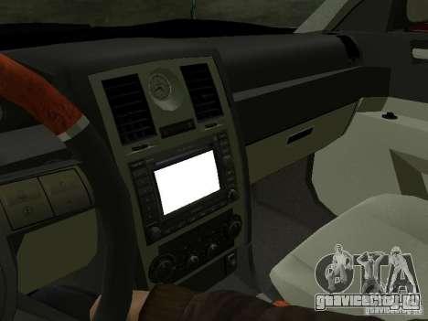 Chrysler 300C HEMI 5.7 2009 для GTA San Andreas вид сбоку
