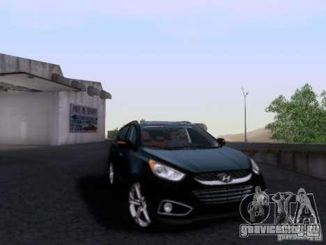 Hyundai ix35 для GTA San Andreas вид сзади