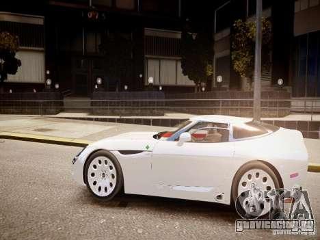 Alfa Romeo TZ3 Stradale Zagato для GTA 4 вид слева