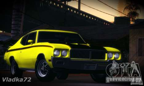 Buick GSX 1970 v1.0 для GTA San Andreas вид слева