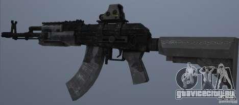 AK47+Holographic sight для GTA San Andreas второй скриншот