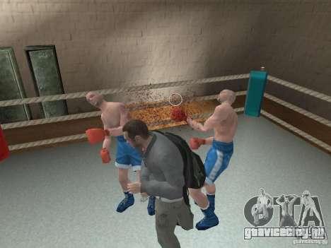 Система драк из GTA IV для GTA San Andreas